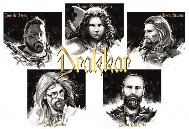 Το Ιταλικό συγκρότημα Drakkar