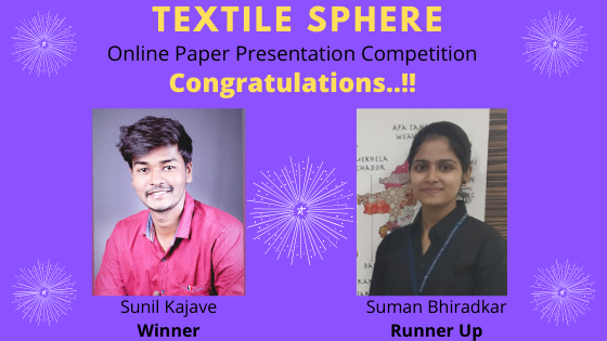 Results-Textile Sphere Online Paper Presentation Competition