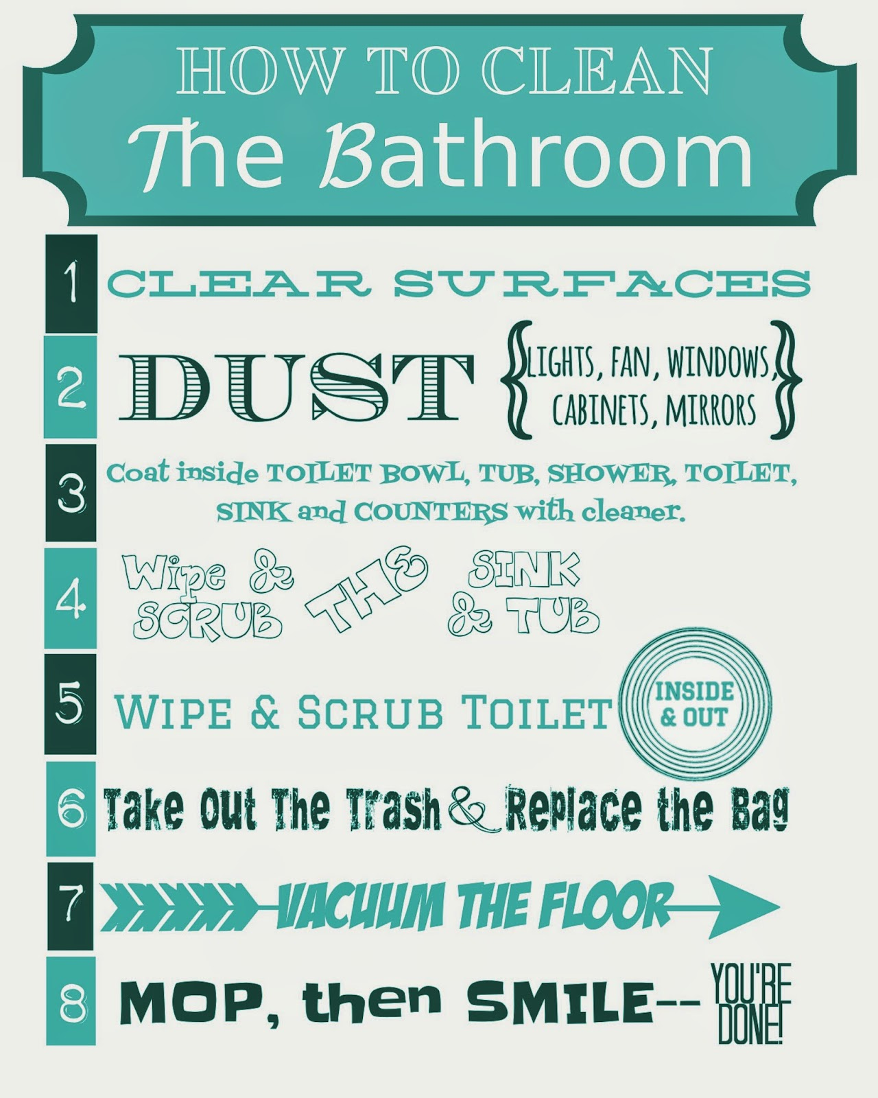 How to clean the bathroom printable so much to make - How much to build a new bathroom ...