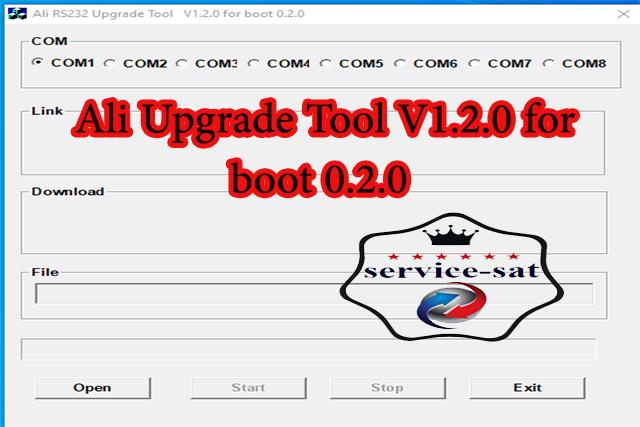 ALI360X upgrade tool