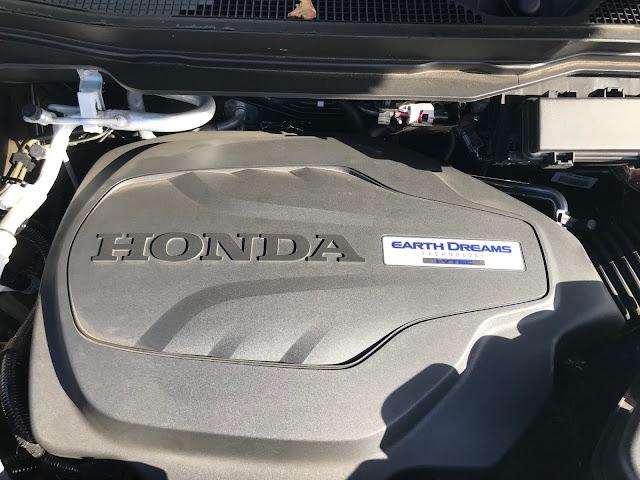 Engine in 2020 Honda Pilot Black Edition