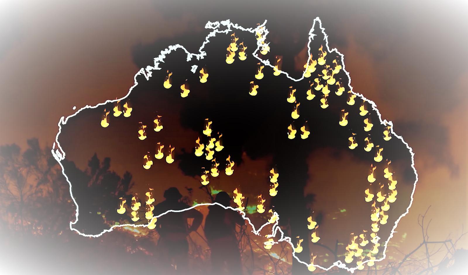 Australia Bushfires 2020.