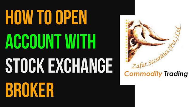 How to Open Account with Stock Exchange Brokers