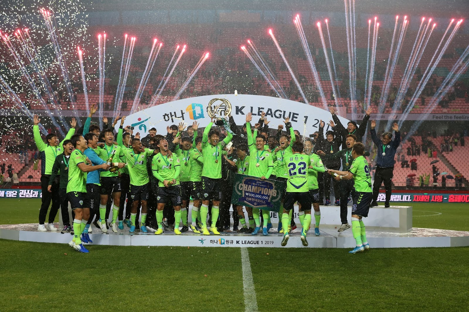 Jeonbuk Hyundai Motors claim seventh K League title