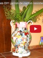 http://manualidadescarton.blogspot.com.es/2016/11/jarron-de-carton-resistente-al-agua.html