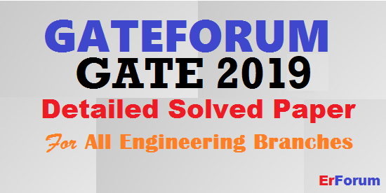 gate-gateforum-2019-solved-paper