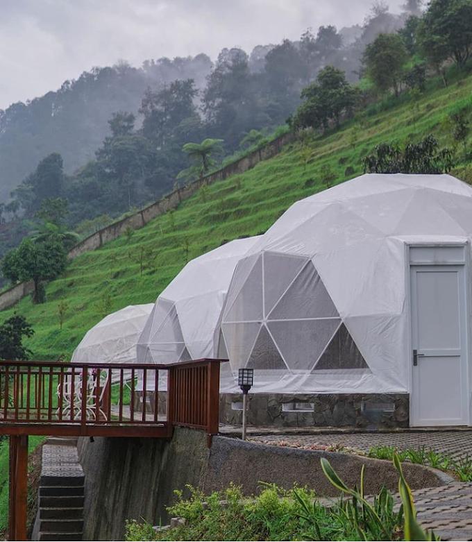 """Tidur di Mewahnya """"Dome"""" Damar Langit Resort"""