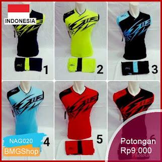 NAG020 Jersey Voli Singklet Futsal Badminton Bola Pz Murah Bmgshop