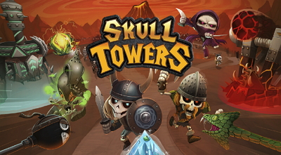 Skull Towers Castle Defense