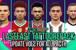 Latest Tattoo Repacked 2020 V2 - PES 2017