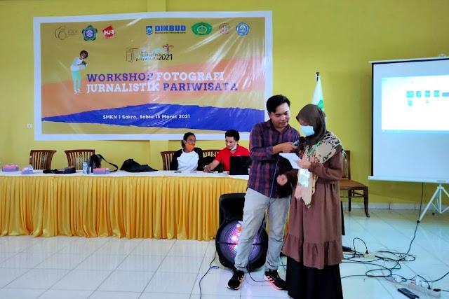 Workshop Foto Jurnalistik Pariwisata SMA disambut baik berbagai pihak