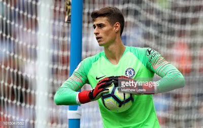 Chelsea's Goalkeeper Kepa fined, Apologises to Club after League Cup final