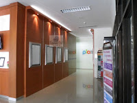 background backdrop dinding kantor
