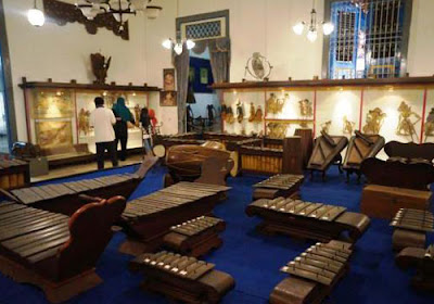 Collections of Radya Pustaka museum