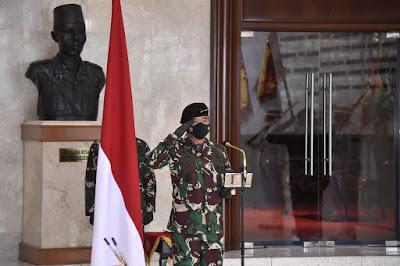 Panglima TNI Pimpin Penyerahan Jabatan Pangkogabwilhan III dan Sertijab Dandema Mabes TNI