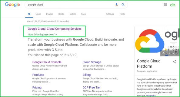 Google-cloud-website