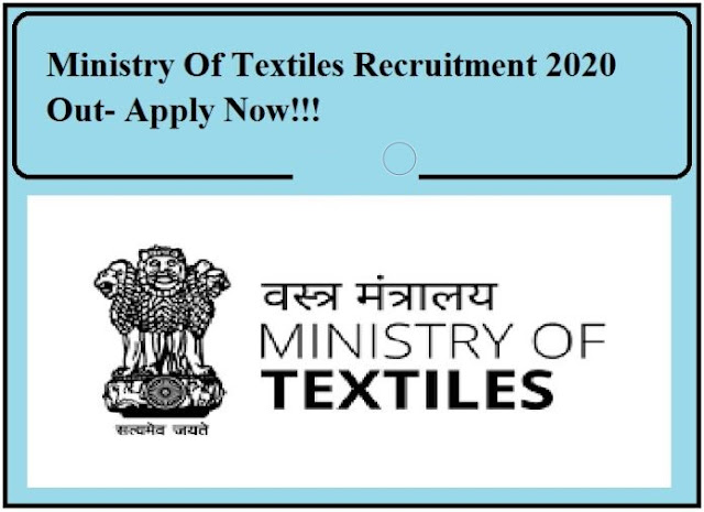 ministry-of-textiles-careers-2020