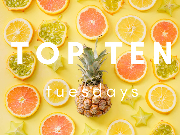Top Ten Tuesday (20): My Most-Read Authors