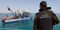 الماتلين: شاطئ مامي احباط محاولة اجتياز الحدود خلسة ل 10 شبان