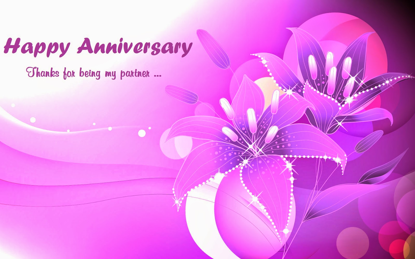 Free Marriage Anniversary Orange Rose Wishes Cards
