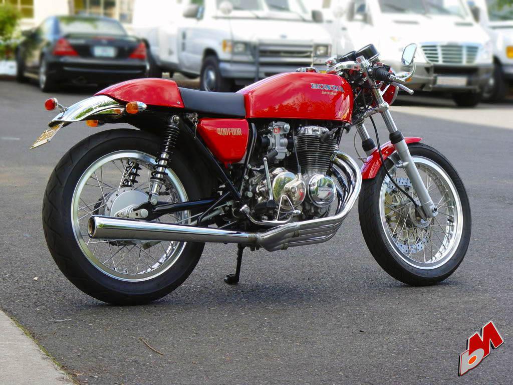 Custom Honda CB400F Cafe Cacer