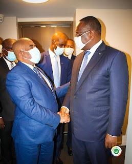 New-York : Rencontre du Président AZALI avec le Président du Sénégal