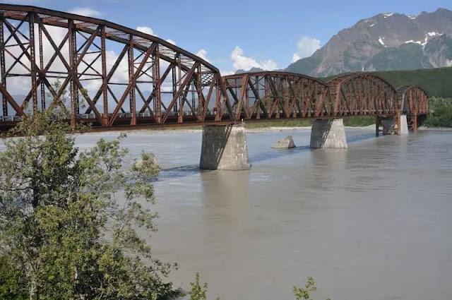 Copper River Highway in Cordova, Alaska