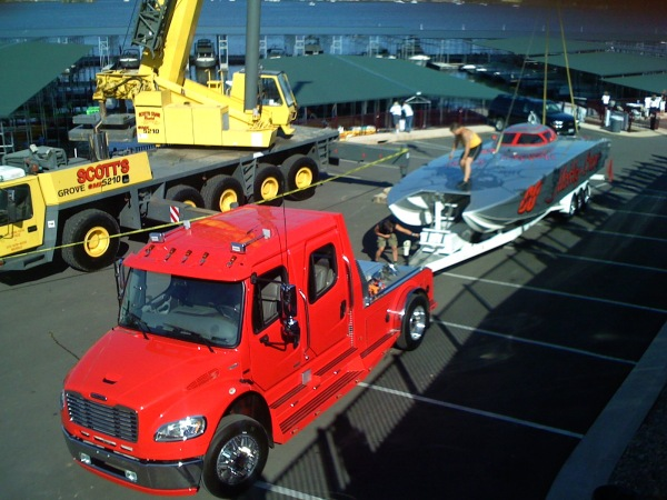 Freightliner Sportchassis PX4-L To Haul Your Boat? - VW GTI