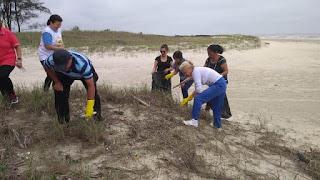 Workshop e mutirões marcaram adesão da Ilha ao dia mundial de limpeza das praias