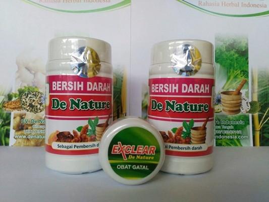 Obat Scabies de Nature Kapsul Bersih Darah dan Salep Exclear