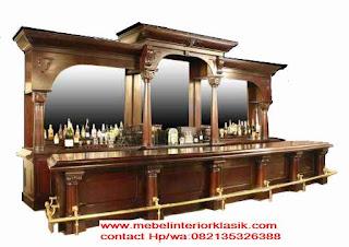 meja bar classic,meja bar jati jepara,meja bar duco,meja bar ukir,meja bar classic eropa,toko furniture klasik mewah
