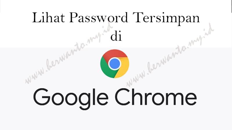 Password di google chrome