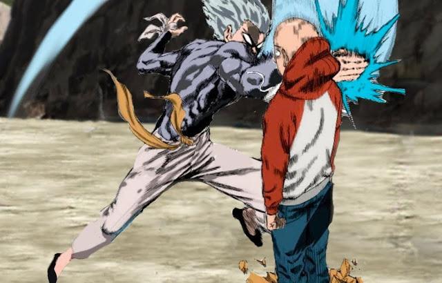 One-Punch Man: Limiter Garou Rusak, Kekuatannya Menjadi Sebanding dengan Saitama?