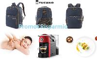 Logo Tempo: scegli il tuo Premio e vinci Zaini Tucano, cene, massaggi benessere o macchine da caffè!