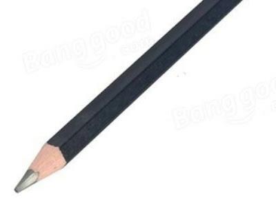 Black wood pencil