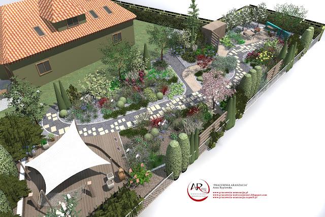 długi ogród, wąski ogród - projektowanie i zakładanie
