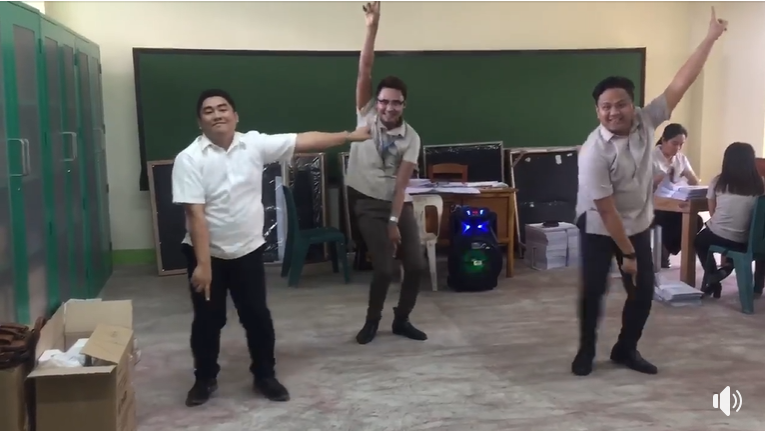 "Teachers take a break from paperwork, join the viral ""Tala"" dance craze"