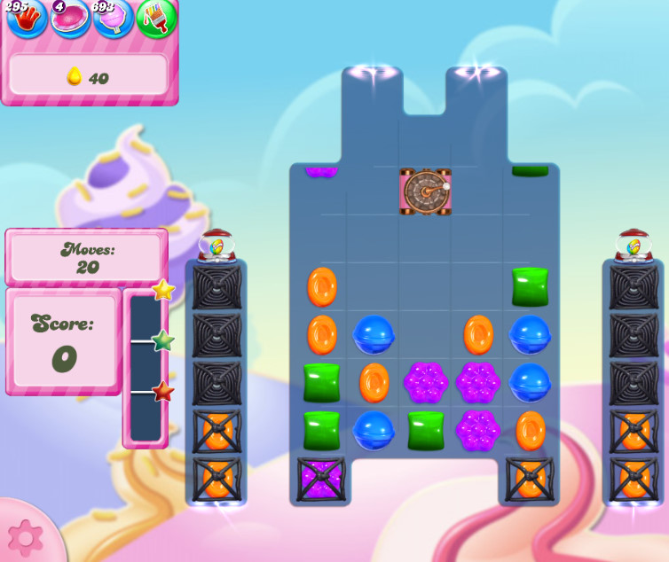 Candy Crush Saga level 2834