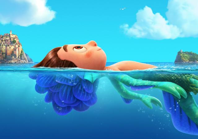 New Pixar Luca Poster