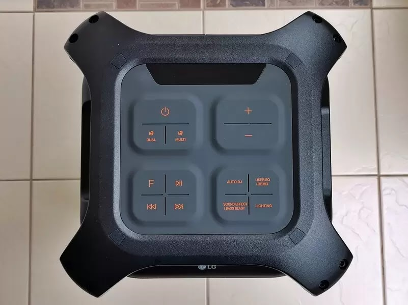 LG XBOOM RK7 Controls