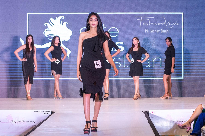 Simran Modi a Participant at Jaipur audition of Elite Miss Rajasthan 2020, season 7.