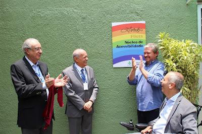 Inauguração Núcleo de Acessibilidade _ Foto_ Fernando De Amicis