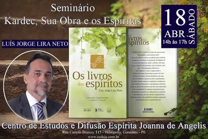 Seminário no CEDE com Luís Jorge Lira Neto