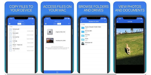 Download Remote Drive for Mac - Pro for iPhone now free