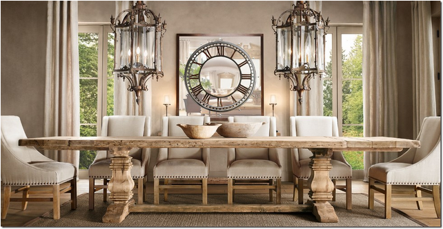 Key Interiors by Shinay: Old World Dining Room Design Ideas