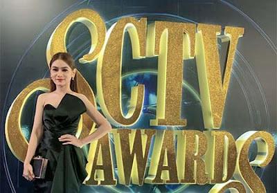 Indah Nicole di SCTV Awards