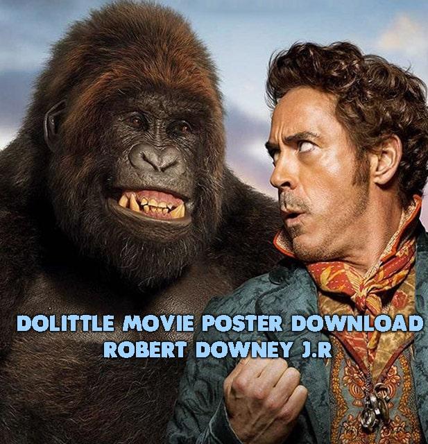 Dollitile Free MOVIE pOSTER dOWNLOAD