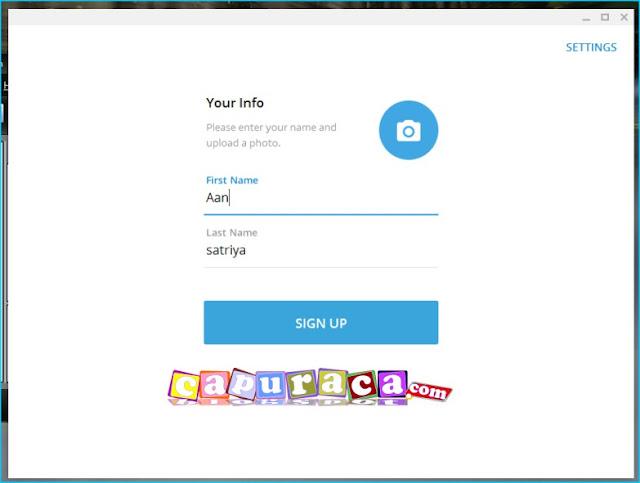 Cara Daftar Telegram di PC