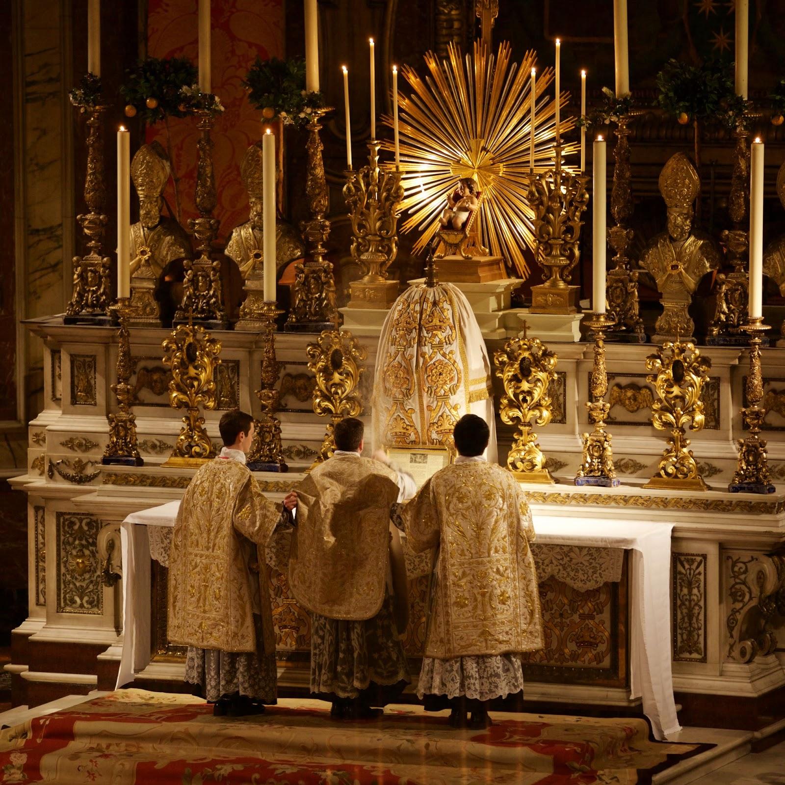 New Liturgical Movement Photographs Of Midnight Mass