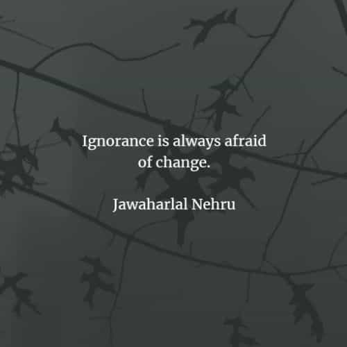 Ignorance quotes and sayings that will inspire you
